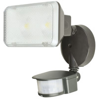 Signature LED 8 inch Rubbed Bronze Outdoor Floodlight in 14