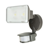 AFX Signature 1 Light Outdoor Floodlight in Rubbed Bronze TPDW2600L50RBMS