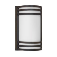 AFX Lighting Trillium 2 Light Outdoor Sconce in Oil-Rubbed Bronze TRW213RBEC-PC