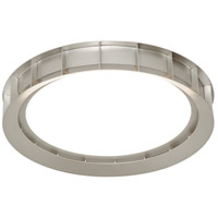 AFX TTMF1214L30D1SN Tatum LED 12 inch Satin Nickel Flush Mount Ceiling Light