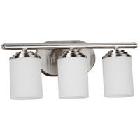 Vernon 3 Light 18 inch Satin Nickel Bath Vanity Wall Light
