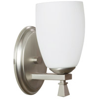 AFX Voltare 1 Light Wall Sconce in Satin Nickel VOS113SNSCT