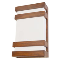 AFX Wells 1 Light Wall Sconce in Chestnut WES9151400L30D2CT4B