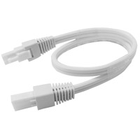 AFX Noble Pro NLLP Undercabinet Connecting Cable in White XLCC24WH