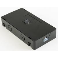 AFX XLHBBL Noble Pro 12 inch Black Undercabinet Hardwire Box