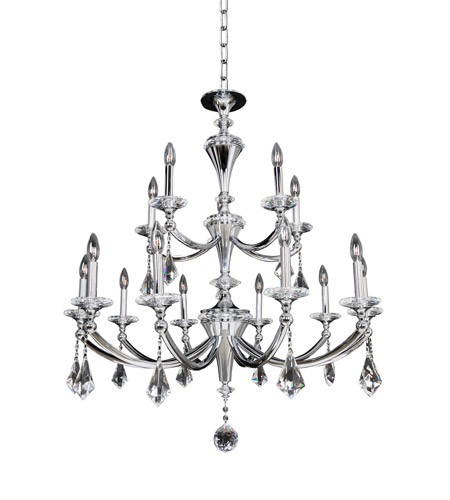 Allegri 012173-010-FR001 Floridia 15 Light 37 inch Polished Chrome Chandelier Ceiling Light photo