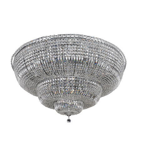 Allegri 020248-010-FR001 Betti 30 Light 48 inch Chrome Flush Mount Ceiling Light photo