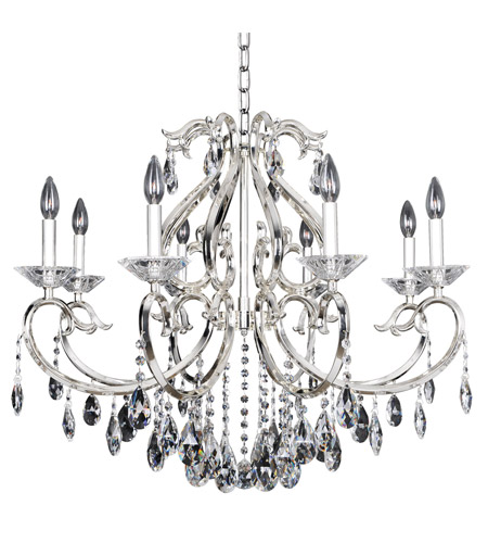 Allegri 023752-014-FR001 Cesti 8 Light 32 inch Silver Chandelier Ceiling Light photo