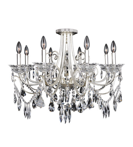 Allegri 025041-017-FR001 Brunetti 8 Light 30 inch Two-Tone Silver Flush Mount Ceiling Light photo