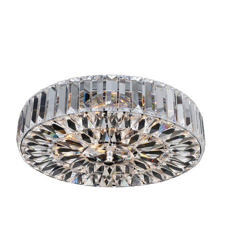 Allegri 025741-010-FR001 Julien 4 Light 16 inch Chrome Flush Mount Ceiling Light photo