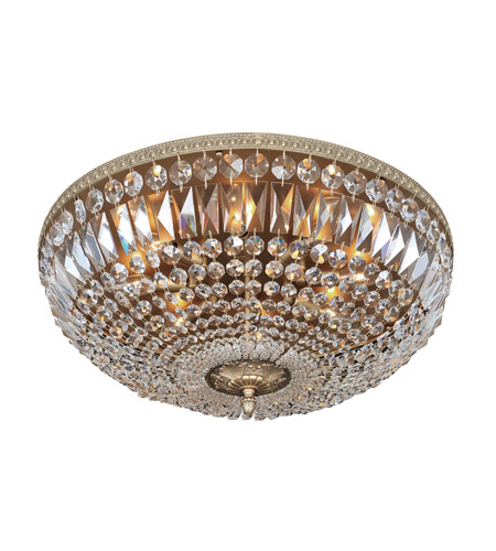 Allegri 025944-031-FR001 Lemire 8 Light 24 inch Antique Gold Flush Mount Ceiling Light photo