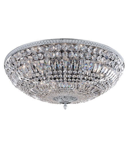 Allegri 025945-010-FR001 Lemire 12 Light 30 inch Chrome Flush Mount Ceiling Light photo
