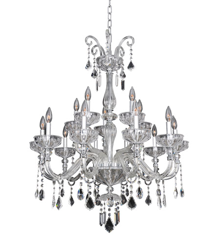 Allegri 026053-010-FR001 Clovio 15 Light 32 inch Chrome Chandelier Ceiling Light photo