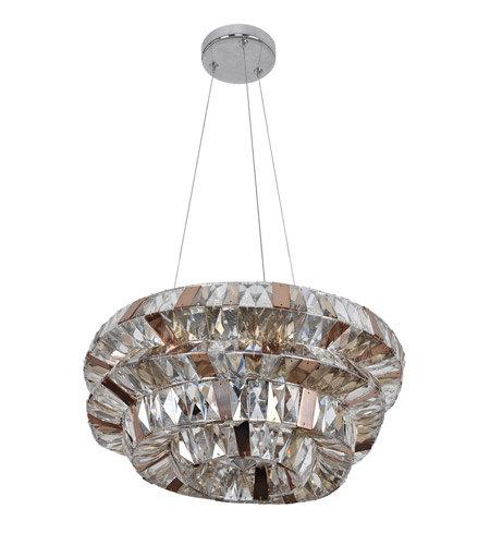Allegri 026352-010-FR000 Gehry 15 Light 32 inch Chrome Pendant Ceiling Light photo