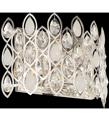 Allegri 028721-014-FR001 Prive 4 Light 14 inch Silver Wall Bracket Wall Light photo