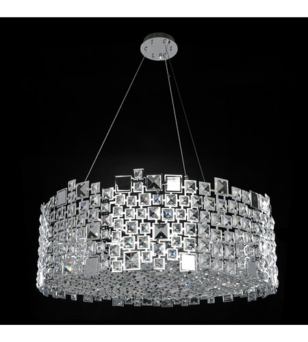 Allegri 028954-010-FR001 Dolo 12 Light 32 inch Chrome Pendant Ceiling Light photo