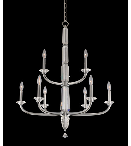 Allegri 031352-010-FR001 Palermo 9 Light 31 inch Chrome Chandelier Ceiling Light photo thumbnail