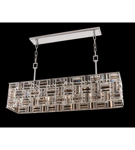 Allegri 031754-010-FR000 Modello 5 Light 42 inch Chrome Island Light Ceiling Light