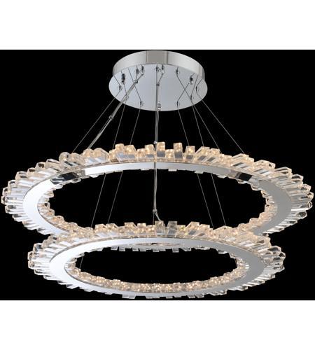 Allegri 032753 010 Fr001 Quasar Led 42 Inch Chrome Pendant Ceiling Light