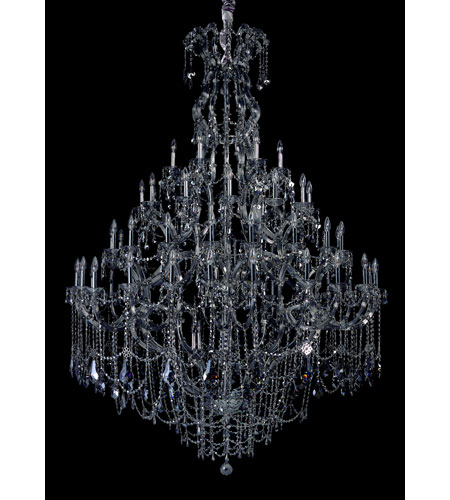 Allegri Brahms 66 Light Chandelier in Chrome with Firenze Smoke Fleet Argentine Crystals 10319-010-FR006 photo