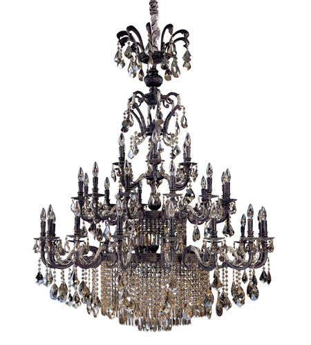 Antiqued Sienna Chandeliers