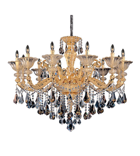 Allegri 11095-016-FR000 Mendelsshon 12 Light 47 inch Two-tone Gold/24K Chandelier Ceiling Light photo