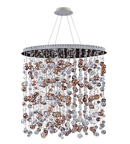 Allegri 11149-010-FR001 Rubens 18 Light 36 inch Chrome Chandelier Ceiling Light photo