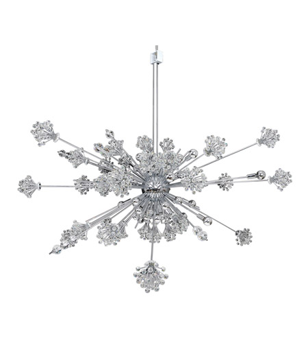 Allegri 11636-010-FR001 Constellation 46 Light 60 inch Chrome Pendant Ceiling Light photo