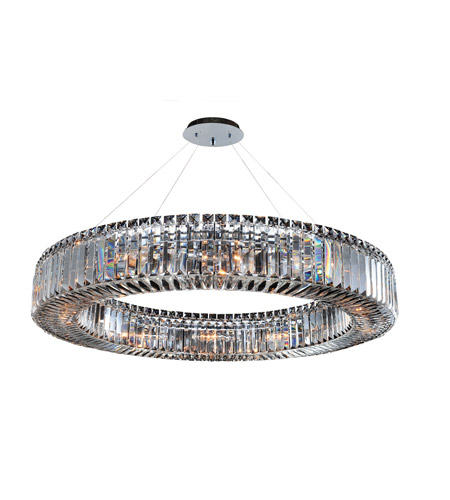 Allegri 11705-010-FR001 Rondelle 12 Light 36 inch Chrome Pendant Ceiling Light photo