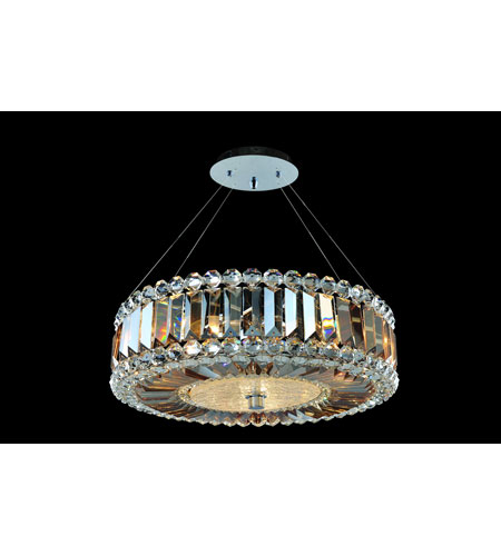 Allegri 11740-010-FR005 Luxor 3 Light 16 inch Chrome Pendant Ceiling Light photo