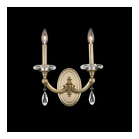 Allegri 012122-045-FR001 Floridia 2 Light 12 inch Matte Brushed Champagne Gold Wall Sconce Wall Light