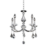Allegri Floridia 5 Light Chandelier in Polished Chrome 012170-010-FR001
