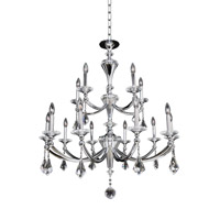 Allegri Floridia 15 Light Chandelier in Polished Chrome 012173-010-FR001