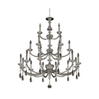 Allegri 012174-010-FR001 Floridia 21 Light 42 inch Chrome Chandelier Ceiling Light in Polished Chrome
