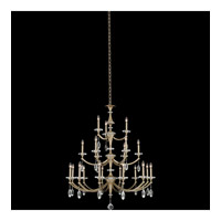 Floridia 21 Light 42 inch Matte Brushed Champagne Gold Chandelier Ceiling Light