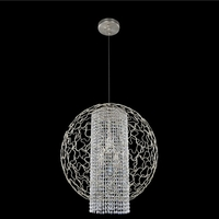 Mundo 4 Light 26 inch Chrome Pendant Ceiling Light