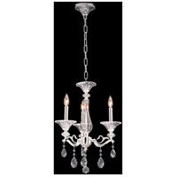 Allegri 020150-017-SS001 Vasari 3 Light 17 inch Two Tone Silver Chandelier Ceiling Light