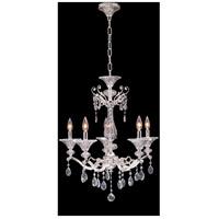 Allegri 020151-017-SS001 Vasari 5 Light 23 inch Two Tone Silver Chandelier Ceiling Light