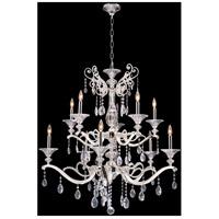 Allegri 020154-017-SS001 Vasari 10 Light 38 inch Two Tone Silver Chandelier Ceiling Light