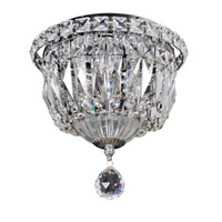 Betti 3 Light 8 inch Chrome Flush Mount Ceiling Light