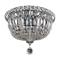 Betti 4 Light 12 inch Chrome Flush Mount Ceiling Light