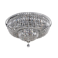 Betti 16 Light 24 inch Chrome Flush Mount Ceiling Light