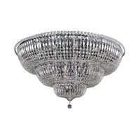 Betti 22 Light 36 inch Chrome Flush Mount Ceiling Light