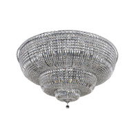 Betti 30 Light 48 inch Chrome Flush Mount Ceiling Light