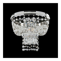 Capri 2 Light 13 inch Chrome Wall Bracket Wall Light