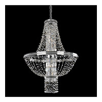 Capri 10 Light 31 inch Chrome Pendant Ceiling Light