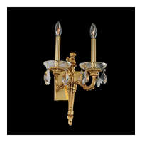Marseille 2 Light 12 inch Antique Brass Wall Bracket Wall Light