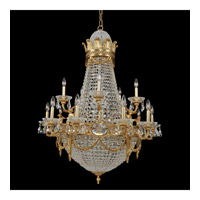 Marseille 25 Light 36 inch Antique Brass Chandelier Ceiling Light
