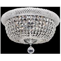 Allegri 020941-010-FR001 Napoli 12 Light 25 inch Chrome Flush Mount Ceiling Light