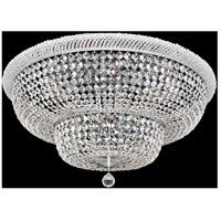 Allegri 020942-010-FR001 Napoli 18 Light 34 inch Chrome Flush Mount Ceiling Light